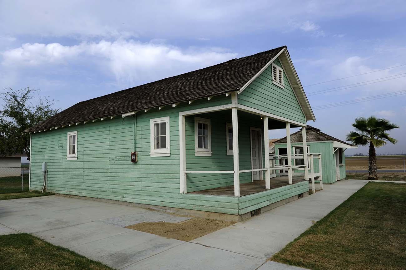den gamla postkontoret i Weedpatch