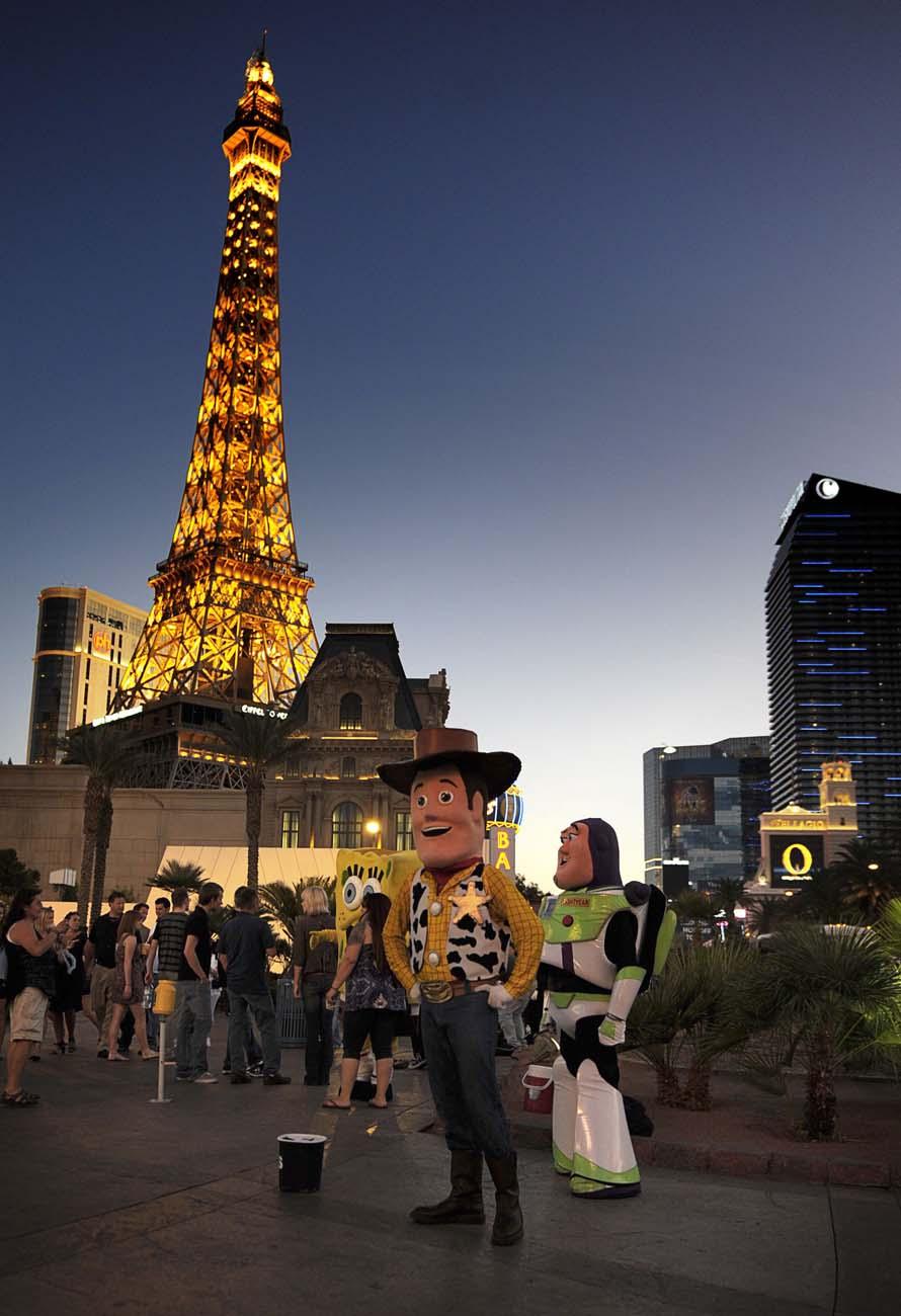 En sliten och trött Woody ur Toy Story